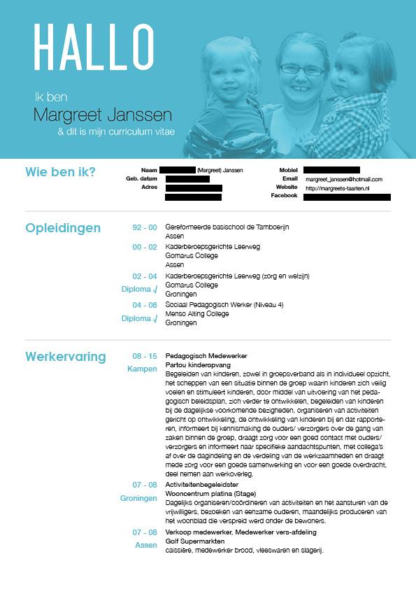 CV-margreet