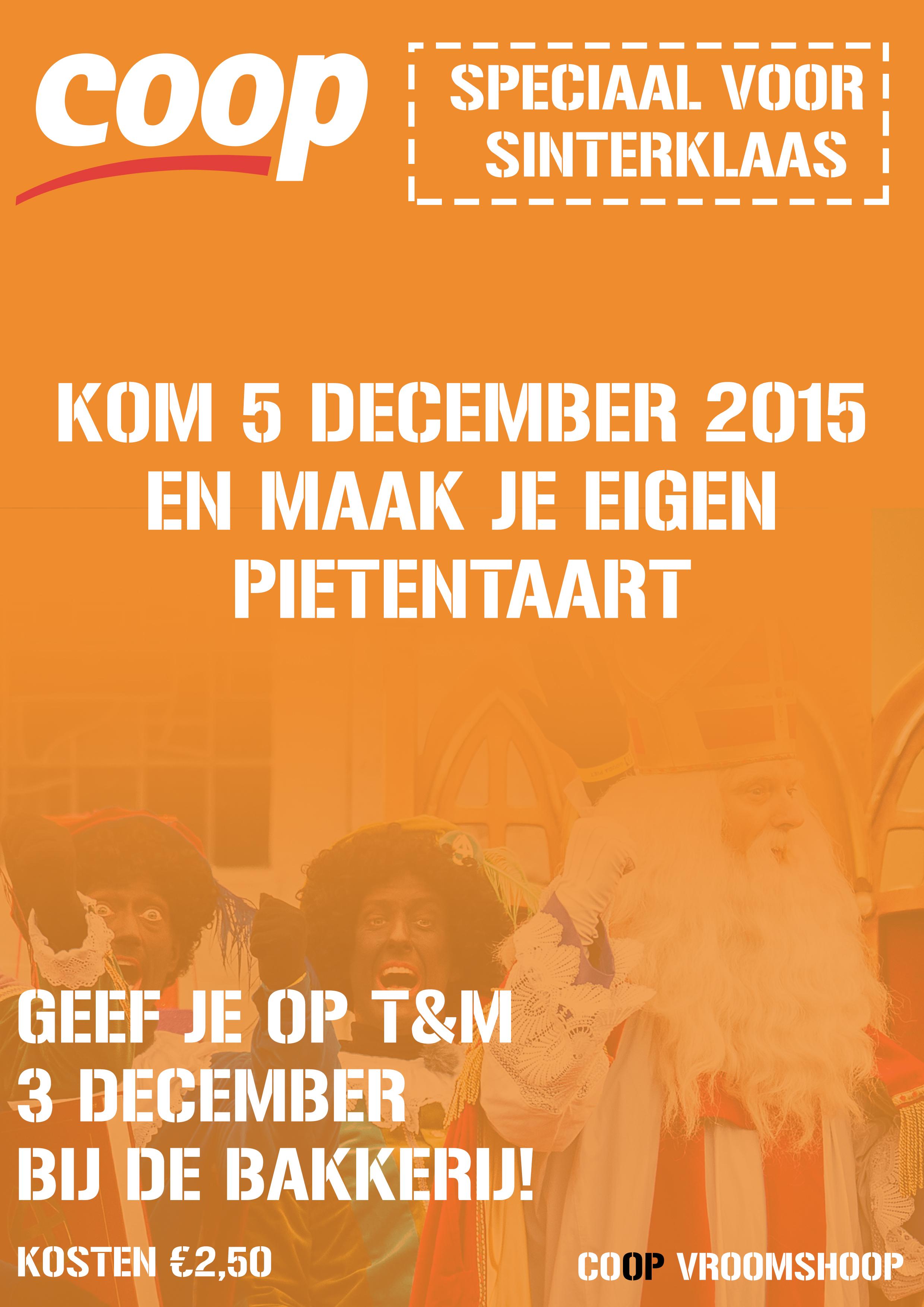 Sinterklaas-flyer